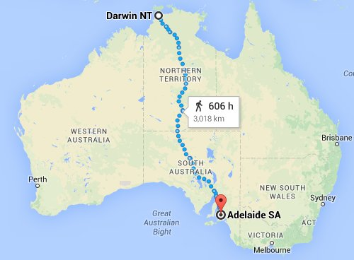 Where Is The Outback In Australia On A Map.Cycling The Stuart Highway Darwin To Adelaide Outback Australia
